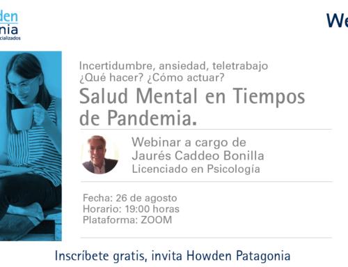 WEBINAR  Salud Mental En Tiempos de Pandemia